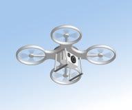 Bourdon à distance d'air avec l'appareil-photo Images stock