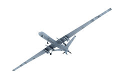 Bourdon militaire dans le ciel Photos libres de droits