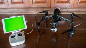 Bourdon professionnel d'appareil-photo avec à télécommande Photos libres de droits