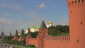 Bourdonnement de Kremlin Moscou banque de vidéos