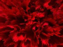 Bourdonnement de lumière rouge Images libres de droits