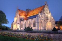 bourg bresse brou皇家en法国的修道院 库存图片