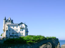 Bourgeois house in Biarritz Stock Photography