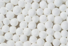 Bourgeons de coton. Fond Images libres de droits