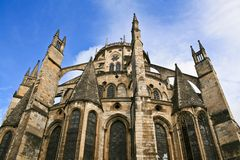 Bourges Cathedral Stock Image