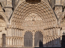 Bourges Cathedral France Royalty Free Stock Photos
