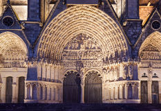 Bourges Cathedral France Royalty Free Stock Images