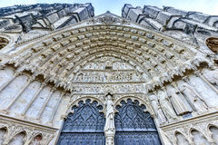 Bourges Cathedral - France. Bourges Cathedral, Roman Catholic church located in Bourges, France. It is dedicated to Saint Stephen and is the seat of the Royalty Free Stock Photo