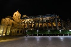 Bourges Cathedral, Roman Catholic church located in Bourges, France. stock photography