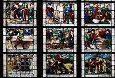 Bourges, Frankreich lizenzfreie stockfotografie