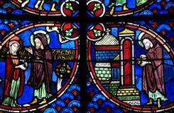 bourges katedra France Fotografia Royalty Free