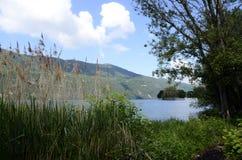 Bourget góry i jezioro Fotografia Stock