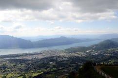 Bourget góry i jezioro Obrazy Stock