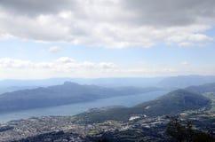 Bourget góry i jezioro Obraz Royalty Free