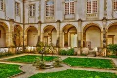 Bourgogne, η γραφική βασιλική Paray LE Monial Στοκ φωτογραφία με δικαίωμα ελεύθερης χρήσης