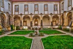 Bourgogne, η γραφική βασιλική Paray LE Monial Στοκ εικόνα με δικαίωμα ελεύθερης χρήσης
