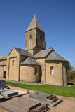 Bourgogne, το γραφικό χωριό Brancion στο saone et Loire Στοκ Εικόνες