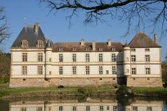 Bourgogne, το γραφικό χωριό Cormatin σε Saone et Loire Στοκ Φωτογραφία