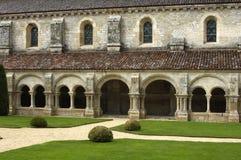Bourgogne kloster av den Fontenay s abbotskloster Royaltyfria Bilder