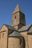 Bourgogne, the picturesque village of Brancion in saone et loire Royalty Free Stock Photo