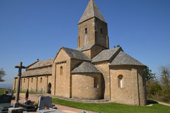 Bourgogne, the picturesque village of Brancion in saone et loire Stock Photo