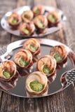 Bourgogne snail Stock Image