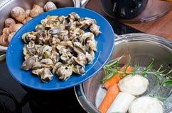 Bourgogne snails Stock Images