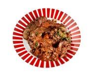 Bourguigno βόειου κρέατος Στοκ Εικόνα
