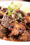 Bourguignon de Boeuf Photo stock
