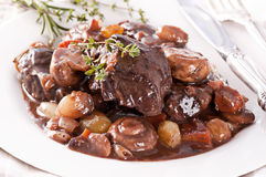 Bourguignon de Boeuf Photos stock