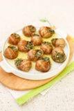 Bourguignonne snail Stock Photos