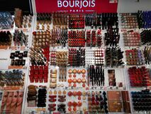 Bourjois Makeup, Perfume And Skin Cosmetics Royalty Free Stock Photography