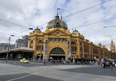Bourke街的H&M商店在墨尔本,澳大利亚 图库摄影