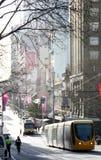 Bourke gata Royaltyfri Fotografi