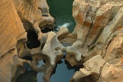 Bourke's Luck Potholes Royalty Free Stock Photography