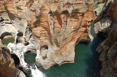Bourke's Luck potholes Royalty Free Stock Photo