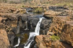 Bourke's Luck Potholes, Blyde River Canyon, South-Africa / Zuid-. Afrika royalty free stock photo
