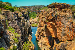 Bourke's Luck Potholes Stock Images