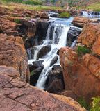Bourke`s Luck Potholes in South Africa - Raging waters have created a strange geological site. royalty free stock photo