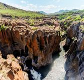 Bourke's Luck Potholes Wide Angle Royalty Free Stock Photos