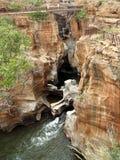 Bourke ` s szczęścia wybojów Blyde rzeka Południowa Afryka Obrazy Stock