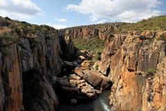 Bourke ` s szczęścia wyboje, Blyde Rzeczny jar, Mpumalanga, Południowa Afryka Obraz Royalty Free