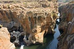 Bourke, s szczęścia wyboje ', Blyde Rzeczny jar Południowa Afryka, Zuid-,/ zdjęcia stock
