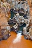 Bourkes运气坑洼, Mpumalanga的,南非 库存照片