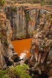 Bourkes运气坑洼,在普马兰加省,南非 免版税库存照片
