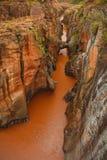 Bourkes运气坑洼,在普马兰加省,南非 库存照片