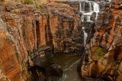 Bourkes运气坑洼,在普马兰加省,南非 图库摄影
