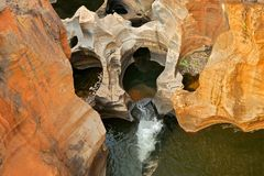 Bourkes Luck Potholes Royalty Free Stock Photo