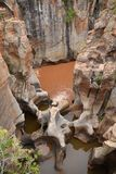 Bourkes luck potholes in Mpumalanga Royalty Free Stock Image