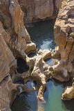 Bourkes Potholes in South Africa Royalty Free Stock Photos